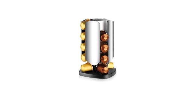 Drehständer PRESIDENT, für 20 Kapseln Nespresso