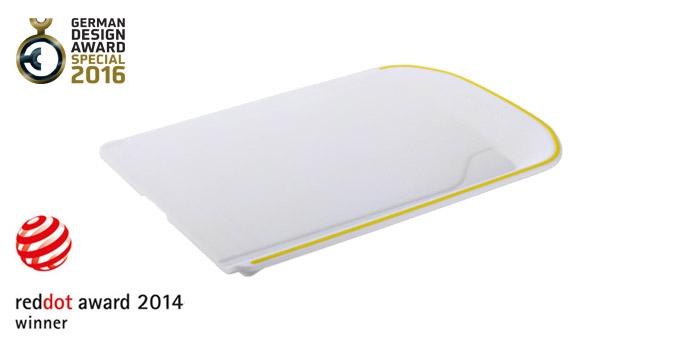 TESCOMA krájecí deska VITAMINO, žlutá