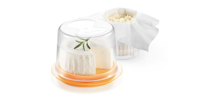 Conjunto p/ fazer queijo fresco TESCOMA DELLA CASA