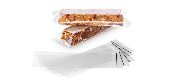 Embalagens p/ barras nutritivas DELLA CASA, 25 pcs