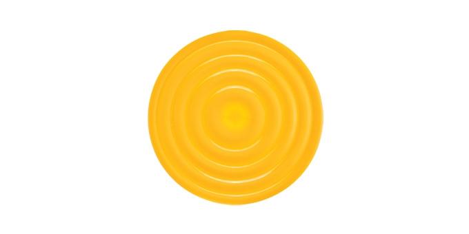 TESCOMA podložka pod džbán TEO ø18 cm, žlutá