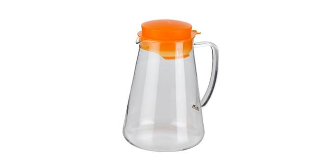 TESCOMA džbán TEO 2.5 l, s odšťavňovačem, oranžová