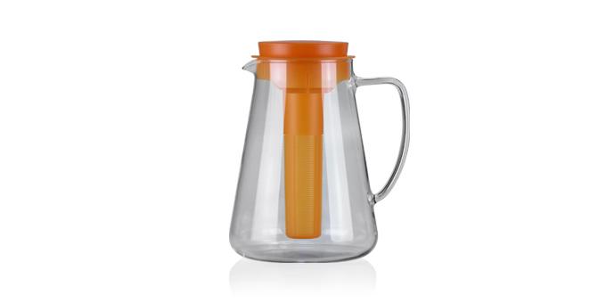 TESCOMA džbán TEO 2.5 l, s vyluhováním a chlazením, oranžová