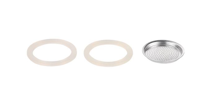 Tescoma silikonové těsnění 2 ks a filtr PALOMA 2 šálky