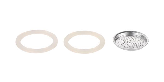 Tescoma silikonové těsnění 2 ks a filtr PALOMA 3 šálky
