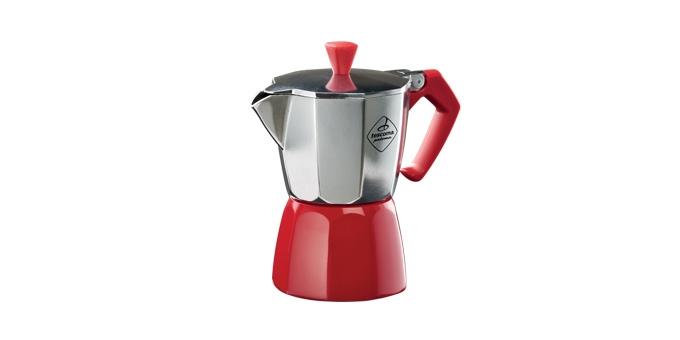 TESCOMA kávovar PALOMA Colore, 3 šálky, červená