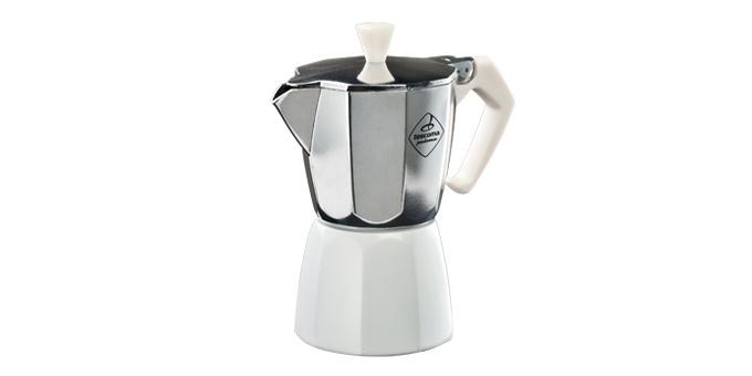 TESCOMA kávovar PALOMA Colore, 6 šálků, bílá