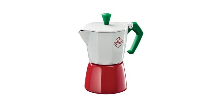 Espressokocher PALOMA Tricolore, 3 Tassen