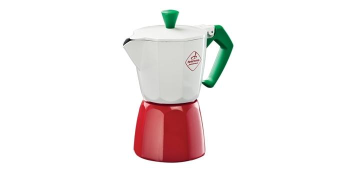 Kávovar PALOMA Tricolore, 6 šálok