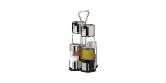 Komplet olej-ocet-sól-pieprz CLUB