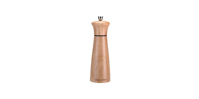 Pepper/salt mill VIRGO WOOD 14 cm