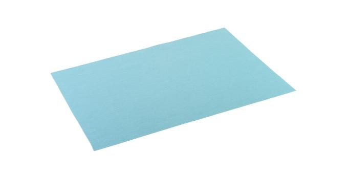 Base individual FLAIR TREND 45x32 cm, azul turquesa