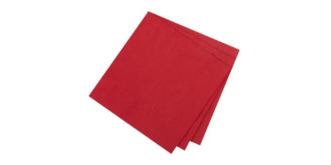Ubrousky pro stolování FLAIR, granátová barva