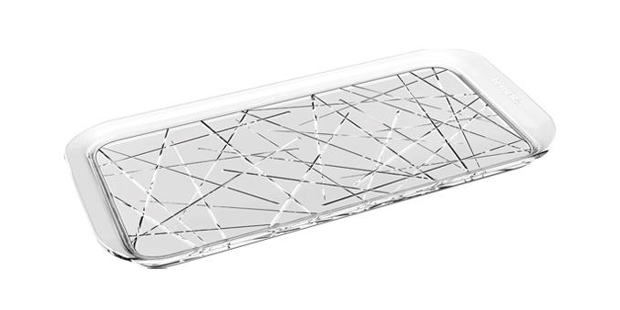 Podnos GLANCE 37 x 18 cm, mikádo