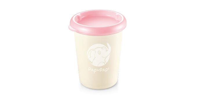 E-shop Tescoma dóza PAPU PAPI 250 ml, 2 ks, růžová