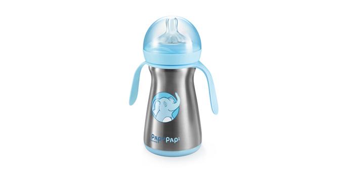 Isolierflasche PAPU PAPI 200 ml, blau