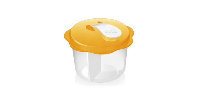 TESCOMA dávkovací dóza na sušené mléko BAMBINI, oranžová
