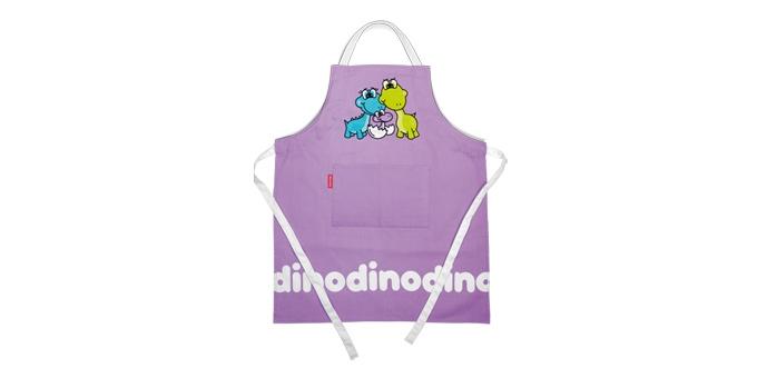 TESCOMA dětská kuchařská souprava DINO, fialová