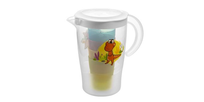 TESCOMA džbán se 4 pohárky DINO 1,7 l