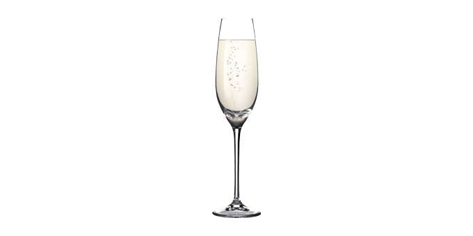 TESCOMA sklenice na šampaňské SOMMELIER 210 ml, 6 ks