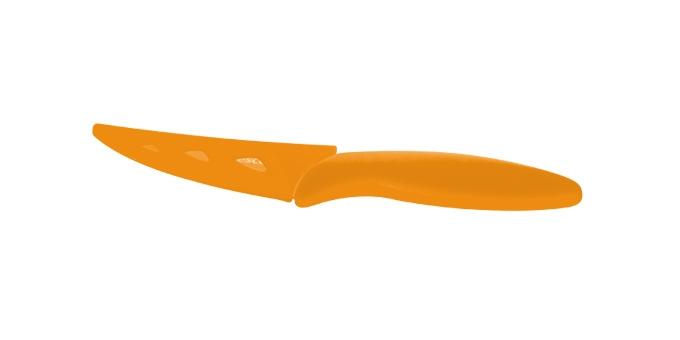 TESCOMA antiadhezní nůž univerzální PRESTO TONE 8 cm, oranžová