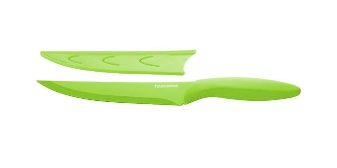 TESCOMA antiadhezní nůž porcovací PRESTO TONE 18 cm, zelená