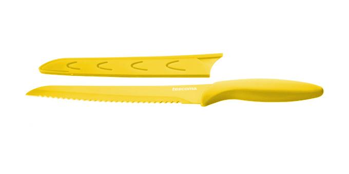 TESCOMA antiadhezní nůž na chléb PRESTO TONE 20 cm, žlutá