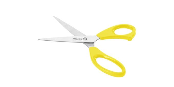 TESCOMA nůžky do domácnosti PRESTO 22 cm, žlutá