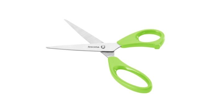 TESCOMA nůžky do domácnosti PRESTO 22 cm, zelená