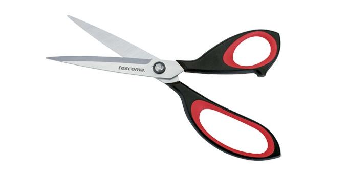 TESCOMA nůžky do domácnosti COSMO 22 cm, červená