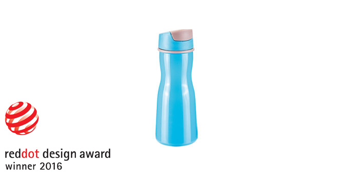 TESCOMA láhev na nápoje PURITY 0.5 l, modrá