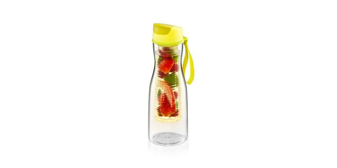 TESCOMA láhev na nápoje s vyluhováním PURITY 0.7 l, žlutá