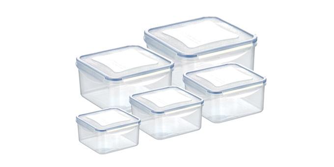 Dose FRESHBOX 5 St., quadratisch