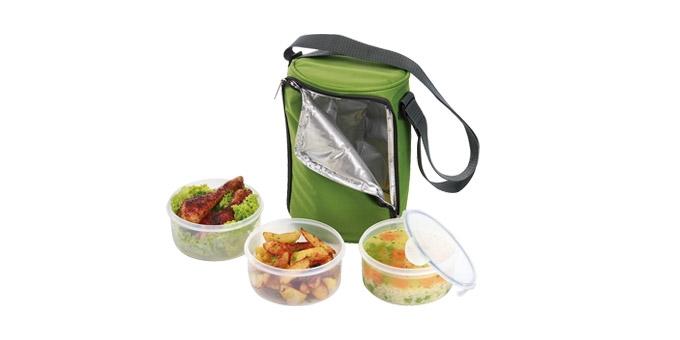 TESCOMA jídlonosič FRESHBOX, se 3 dózami 1.5 l
