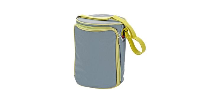 TESCOMA jídlonosič FRESHBOX se 3 dózami 1.5 l, šedá