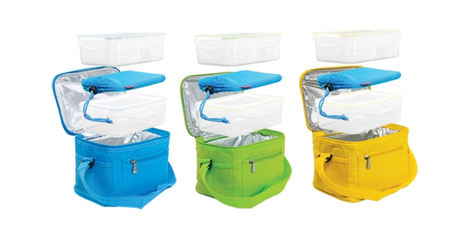 thermobox mit gel k hlkissen coolbag 2 dosen tescoma. Black Bedroom Furniture Sets. Home Design Ideas