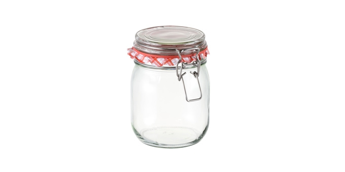 Zavařovací sklenice s klipem TESCOMA DELLA CASA 800 ml