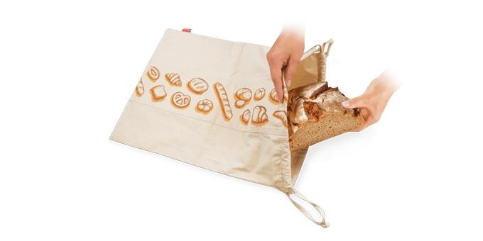 Saco de pão 4FOOD 50x35 cm