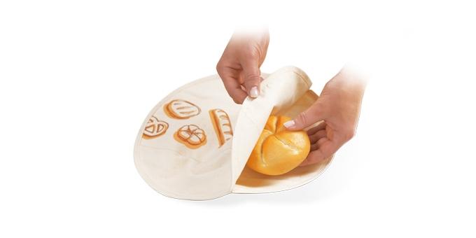 Saco para aquecer pão 4FOOD ø 30 cm