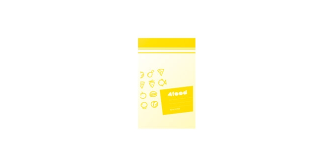 Vrecká na potraviny 4FOOD 19x12 cm, 20 ks