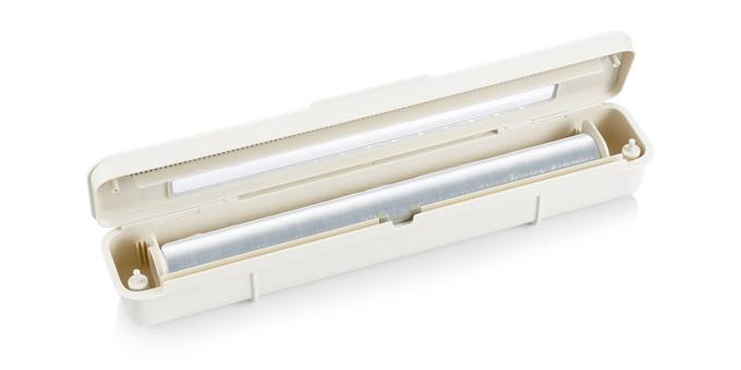 Cortador de película aderente/folha alumínio FlexiSPACE