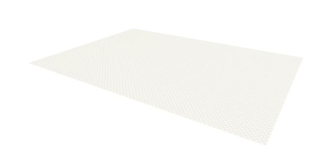 TESCOMA protiskluzová podložka FlexiSPACE 150 x 50 cm, bílá