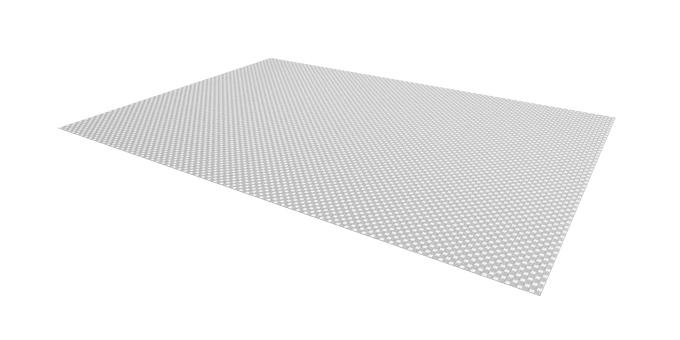 TESCOMA protiskluzová podložka FlexiSPACE 150 x 50 cm, šedá