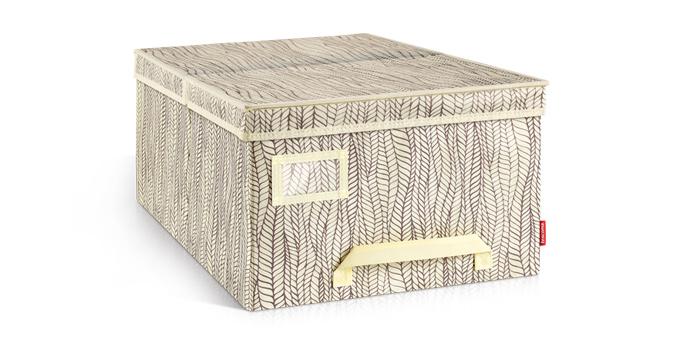 Caixa de arrumação p/ roupa FANCY HOME 40 x 52 x 25 cm