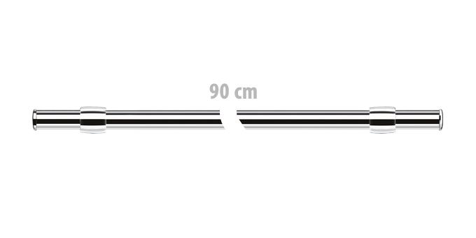 Barra de suspensão MONTI, 90 cm c/ kit montagem
