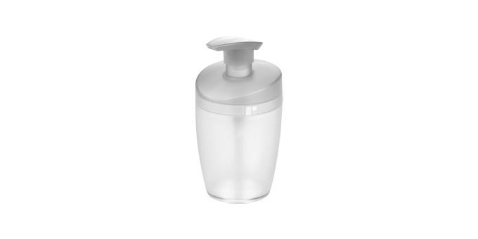 TESCOMA dávkovač saponátu CLEAN KIT 400 ml, bílá