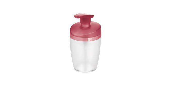 TESCOMA dávkovač saponátu CLEAN KIT 400 ml, červená
