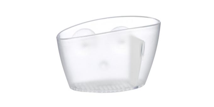 TESCOMA zásobník na houbičku CLEAN KIT, bílá