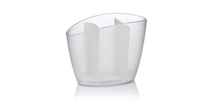 TESCOMA odkapávač na kuchyňské nářadí CLEAN KIT, bílá