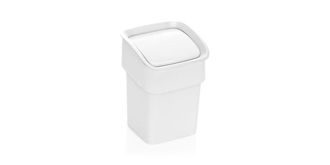 TESCOMA stolní odpadkový koš CLEAN KIT, bílá